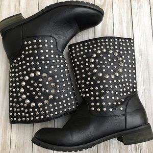 Shoes - Studded Boots size 6